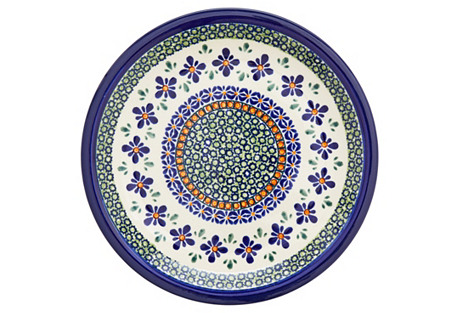 Stoneware Lunch Plate, 9.5