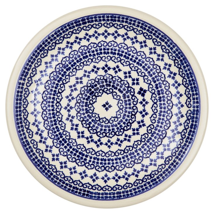 Lunch Plate, Blue Lace