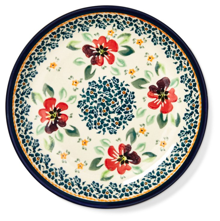 "Stoneware Salad Plate, 7.5"""
