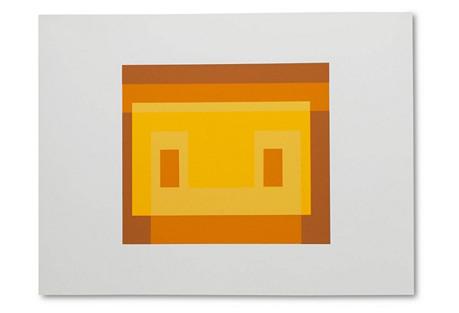 Josef Albers, Portfolio 1, Folder 30A