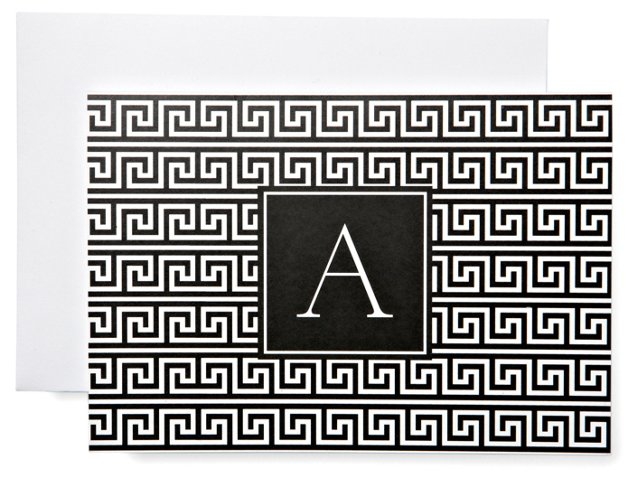 S/20 Initial Notes in Box, Black & White