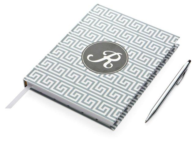 Hardcover Journal, Black & Gray