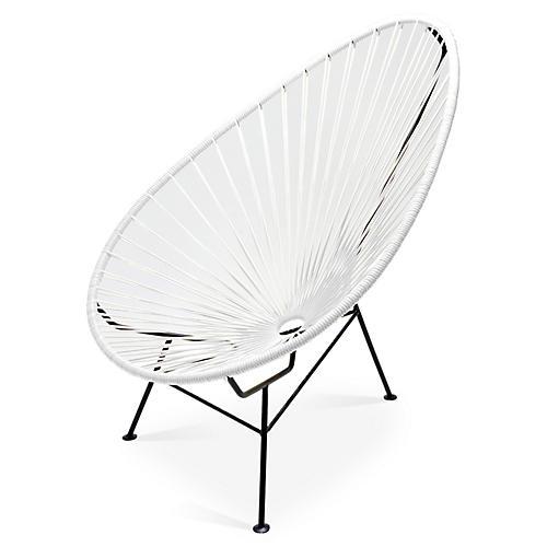 Acapulco Lounge Chair, White