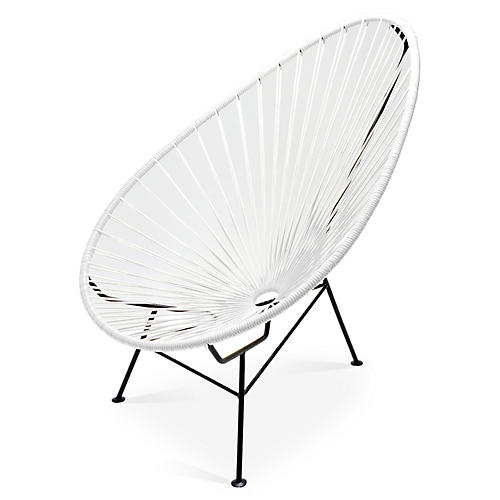 Acapulco Lounge Chair, White