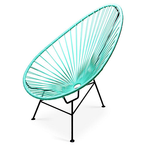 Acapulco Lounge Chair, Mint