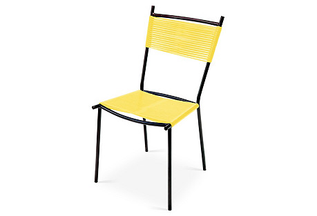S/4 Colima Dinning Chairs, Yellow