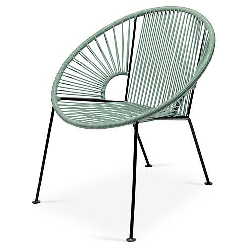 Ixtapa Lounge Chair, Olive Green