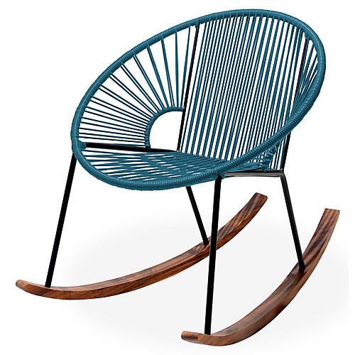 Ixtapa Rocking Chair, Jungle Green