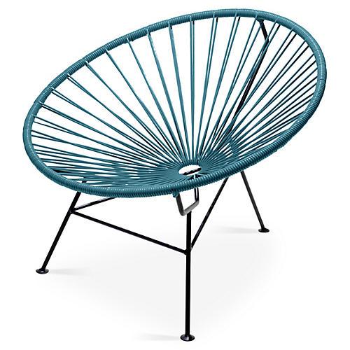Sayulita Lounge Chair, Jungle Green