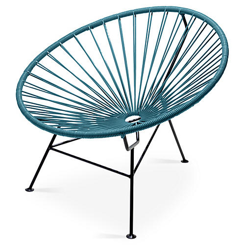 Sayulita Lounge Chair, Jungle Green