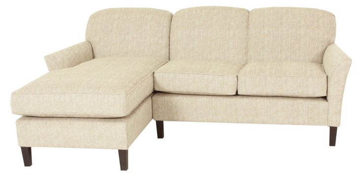 Kira Sectional Sofa, Oatmeal