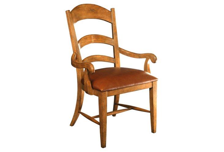 DNU,DiscPastoral Blonde Armchair,