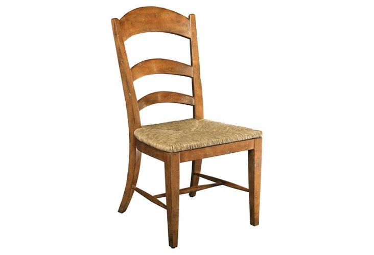 DNU,DiscPastoral Blonde Side Chair,