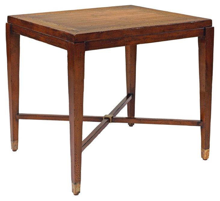 "Modern American 28"" Side Table, Mahogany"