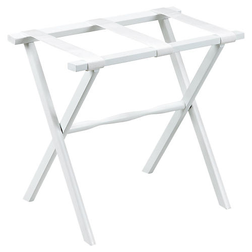 Amalia Luggage Rack, White