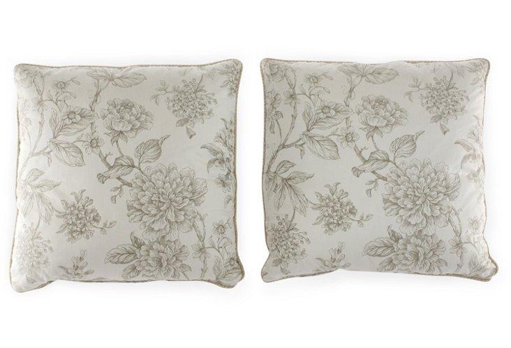 S/2 20x20 Sarah Pillows