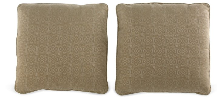 Lorrie Throw Pillows, Pair