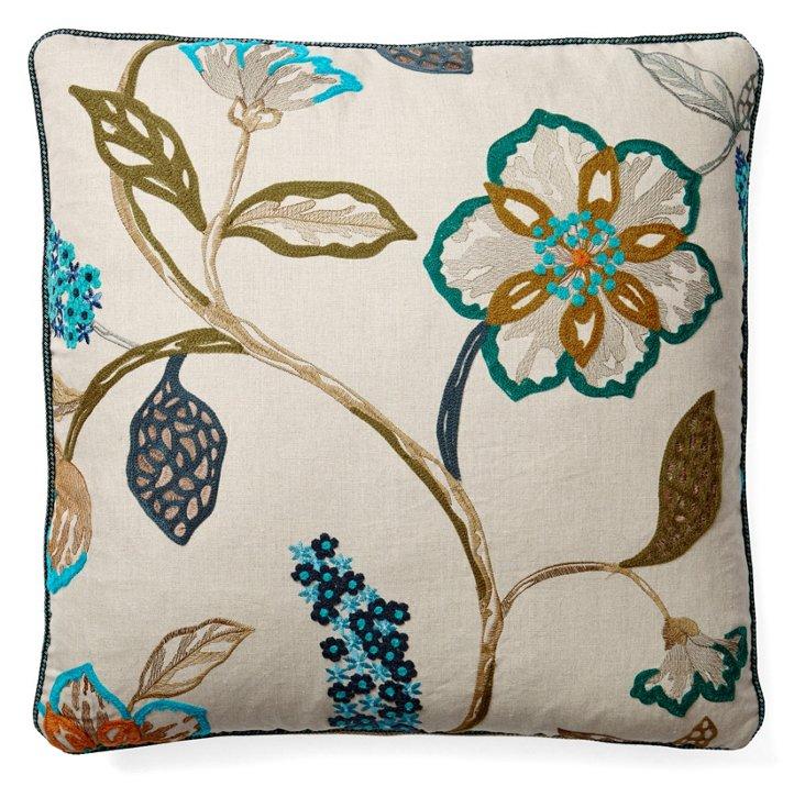 Mikayla 22x22 Throw Pillows, Pair