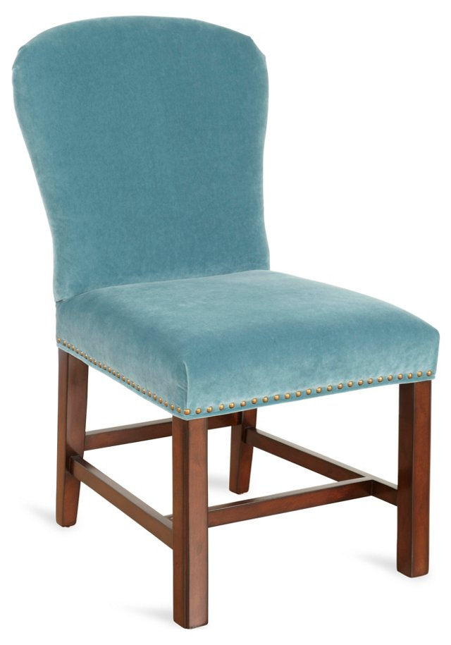 Athena Velvet Side Chair