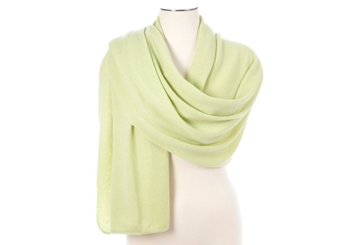 Cashmere Tube Piping Wrap, Mint