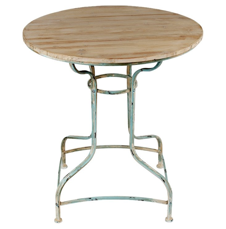 Arden Accent Table, Distressed Natural