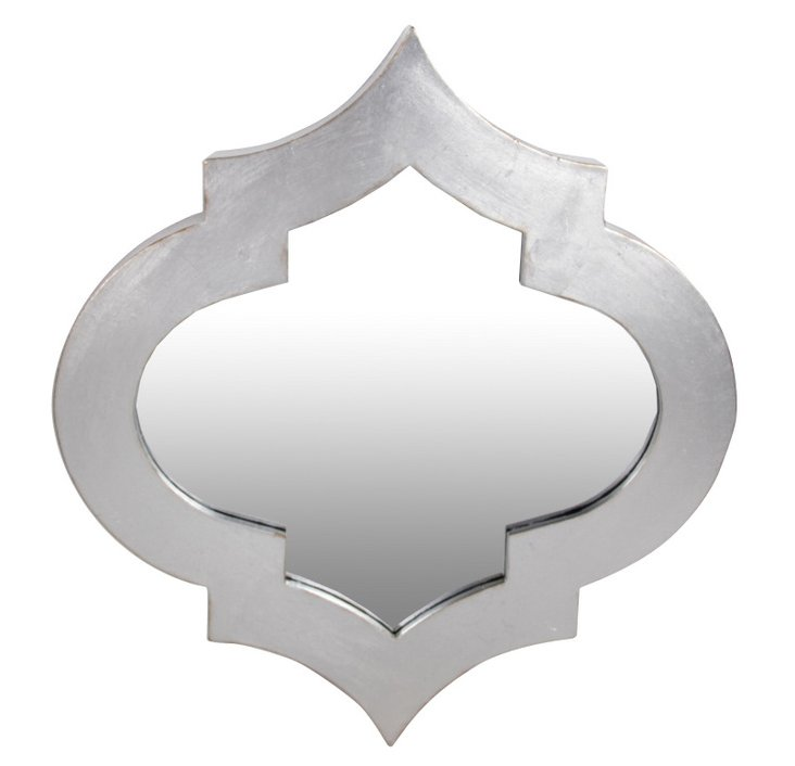 Radiance Accent Mirror, Silver