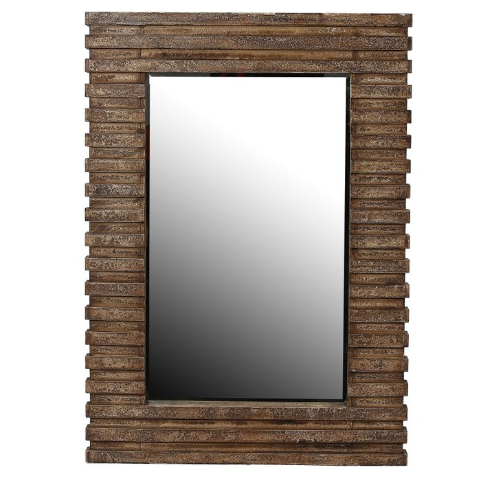 Logan Wall Mirror, Natural