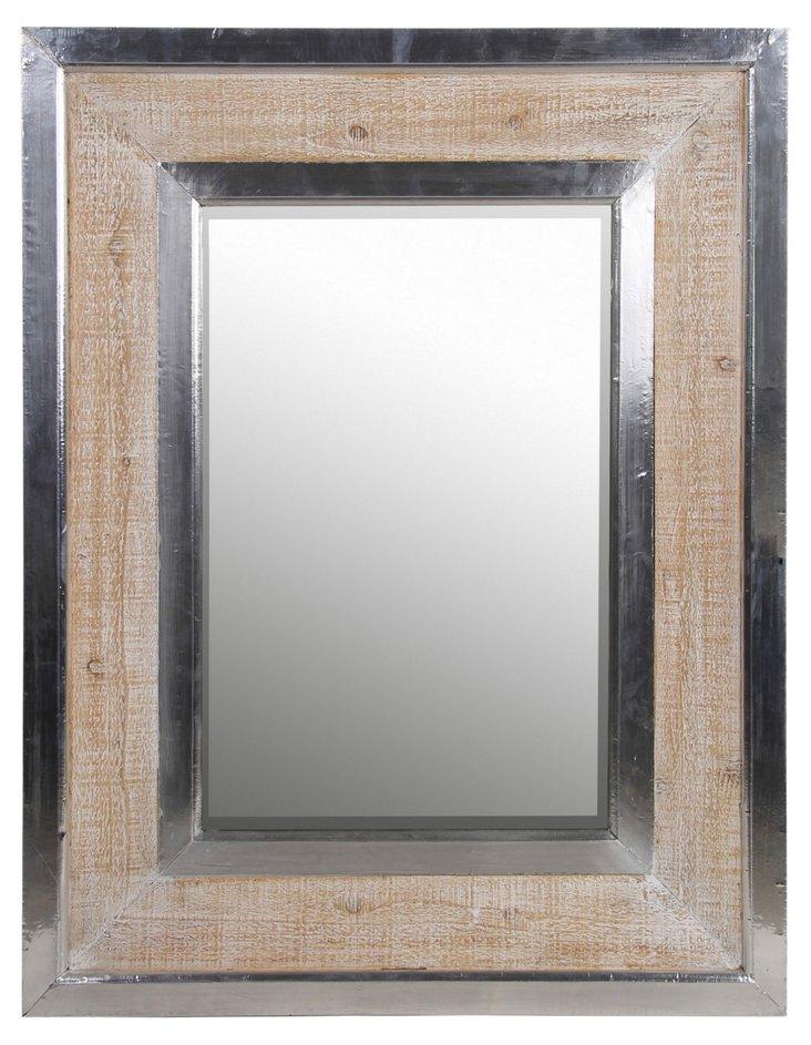 Kellan Wall Mirror, Silver