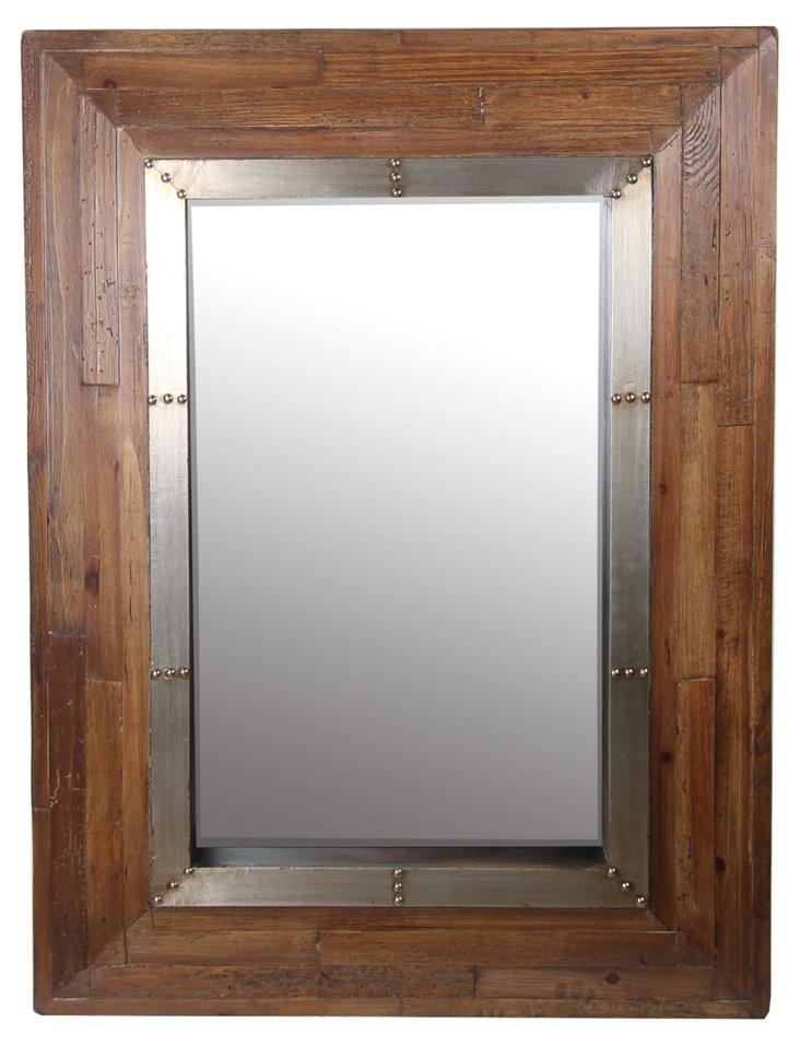 Adrian Wall Mirror, Natural