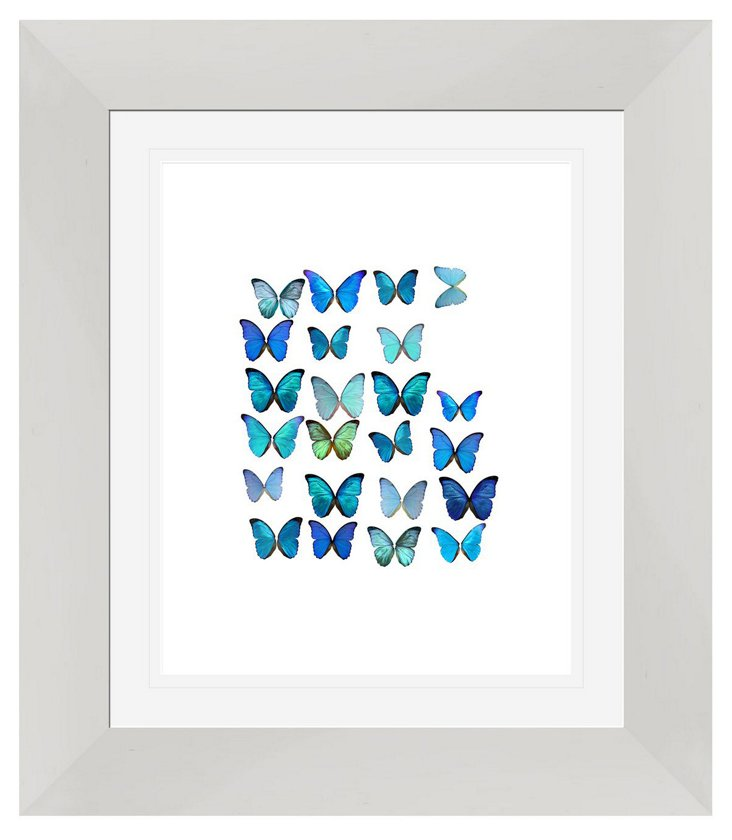 Butterflies Beauty Print II