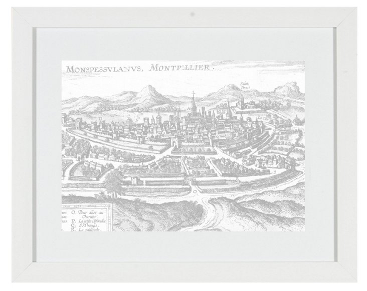 Old World Maps Print I