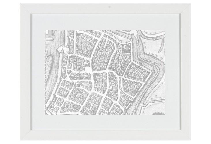 Old World Maps Print V