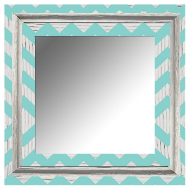 Rory Accent Mirror, Teal
