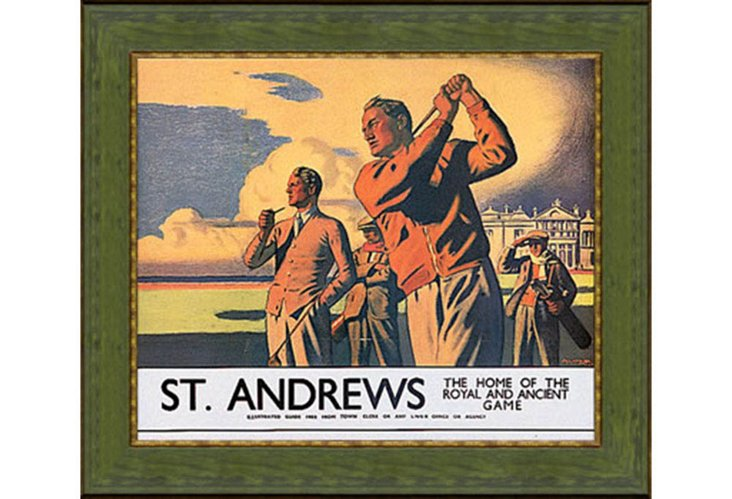 St Andrews, Teeing Off
