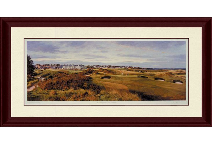 Carnoustie Golf Course Panorama