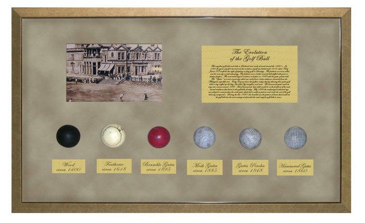 Evolution of the Golf Ball I