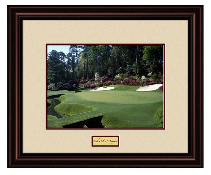13th Hole at Augusta Photograph