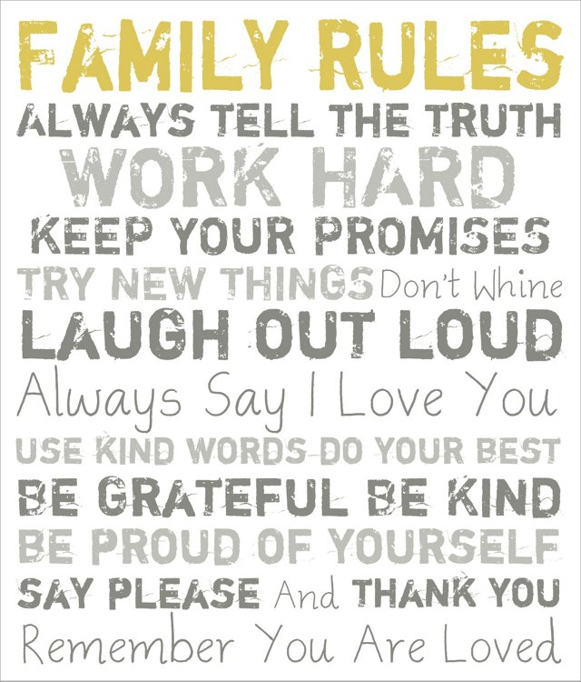 Family Rules, Gray