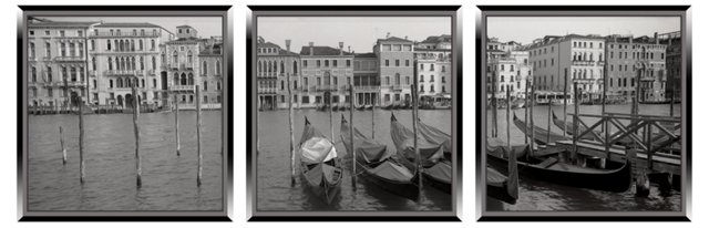 Memories of Venice Triptych