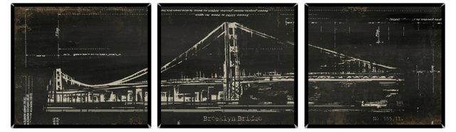 Brooklyn Bridge Triptych