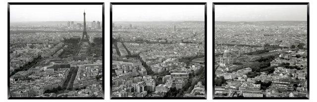 Paris by Day Triptych