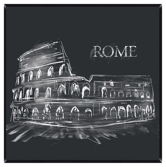 Rome Giclée on Laminate Box