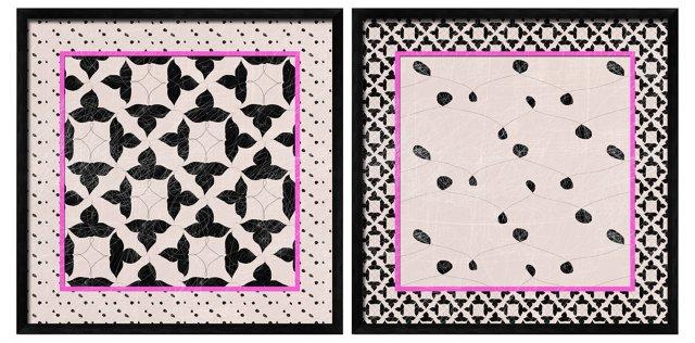 Floral Funk Print Set