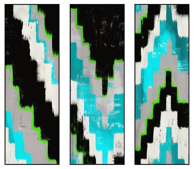 Kilim Triptych