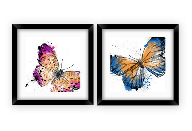 Butterfly Crop I Print