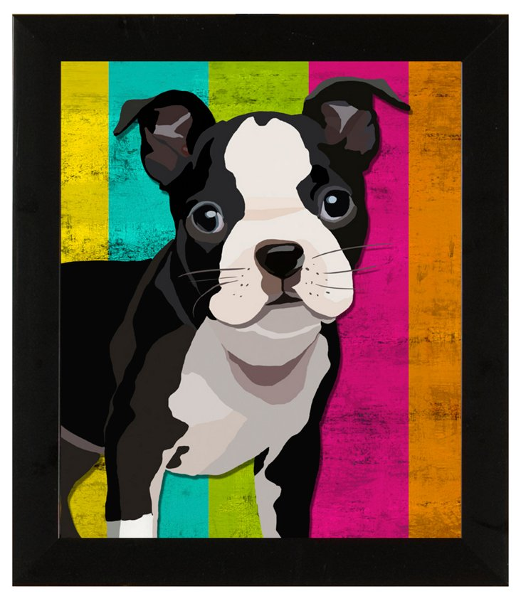 Colorful Dogs Print I