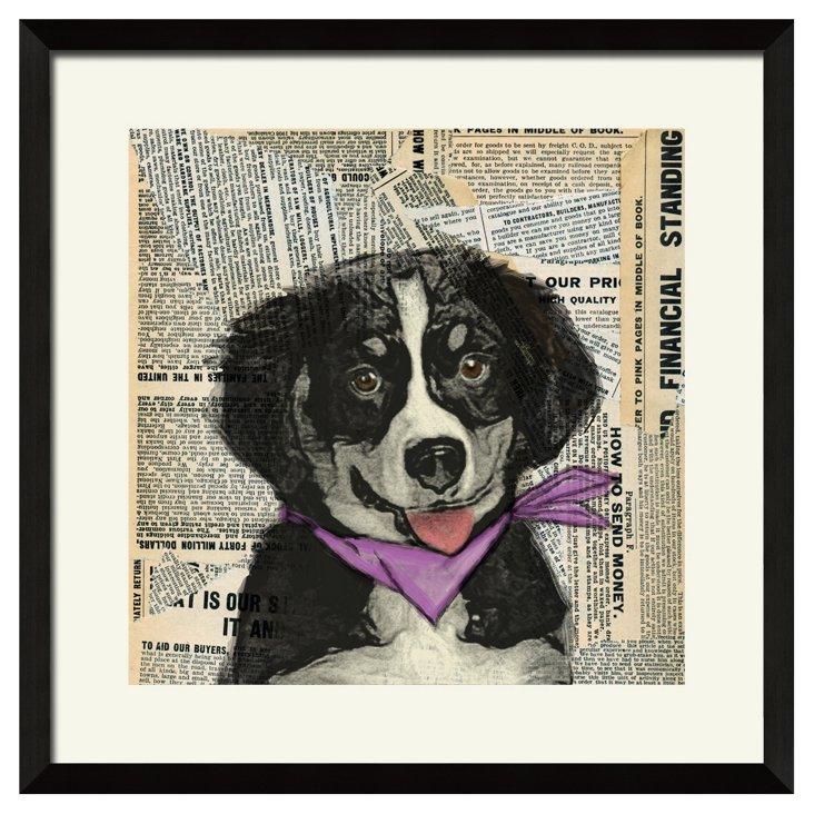 Paper Puppy Print I