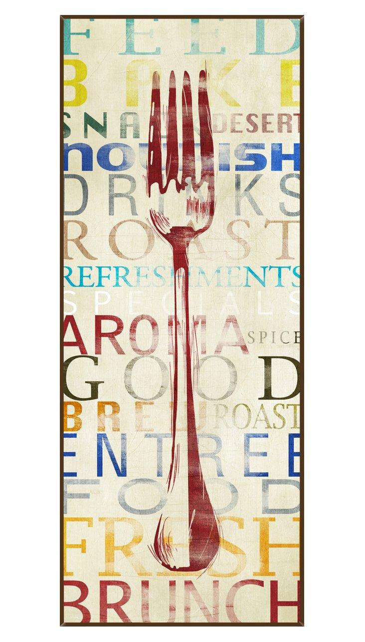 Contemporary Fork Print