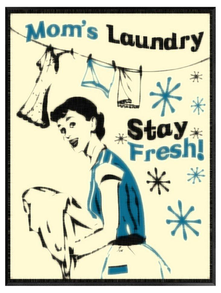 Mom's Laundry Print