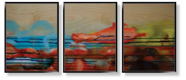 Betsy Enzensberger, Invigorate Triptych
